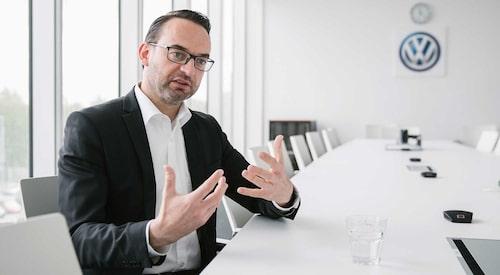 Christian Senger får, enligt ännu inte bekräftade uppgifter, lämna sin post som mjukvaruchef inom Volkswagen.