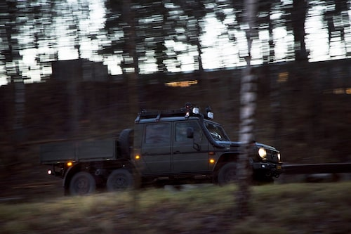 Alltid redo! Försvarets nya Tgb 152 är konstruerad för komplexa arbetssituationer. En verklig kameleont.