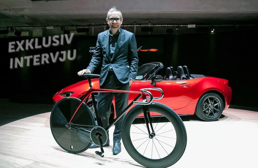 Kevin Rice, ny designchef på Mazda i Europa.