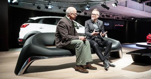 """""""Sofa by KODO concept"""" är ritad av Mazdas bildesigners. Kodo-formerna går att överföra."""