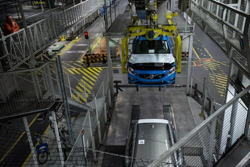 Volvo S60/V60 produktionsstart i Torslanda