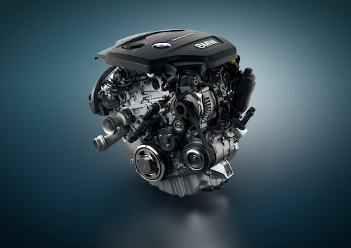 En motor som försvinner, den dieseldrivna trecylindriga maskinen på 1,5 liter.