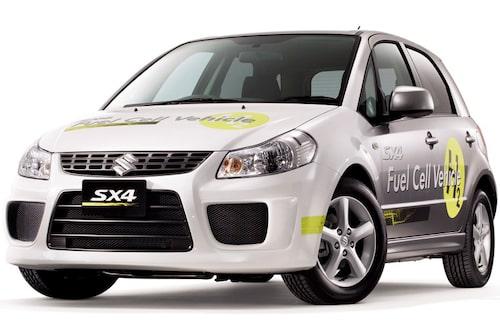 SX4-FCV kombinerar en General Motors-producerad bränslecell med en Suzuki-utvecklad högtrycks (70 MPa) vätgastank. En lätt och kompakt kondensator återladdar energi vid inbromsning och reducerar bränslecellsladdning vid acceleration.