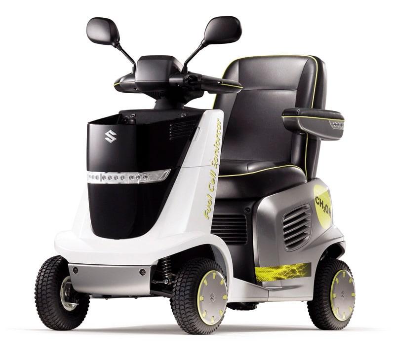 MIO är en elektrisk rullstol, som drivs av en methanoldriven bränslecell i stället för ett konventionellt blybatteri. Methanolösningen förvaras i en kassettliknande flaska, som är lätt utbytbar.