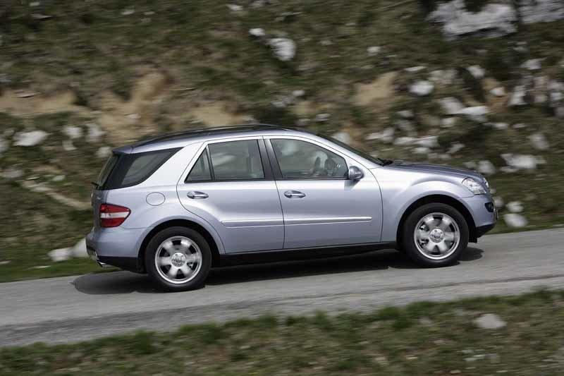 Provkörning av Mercedes ML 280 CDI