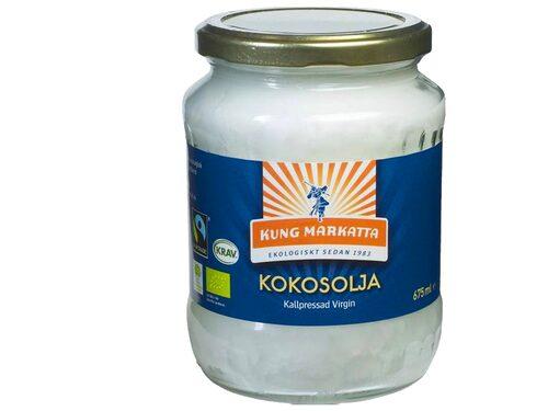 Kokosolja virgin från Kung Markatta.