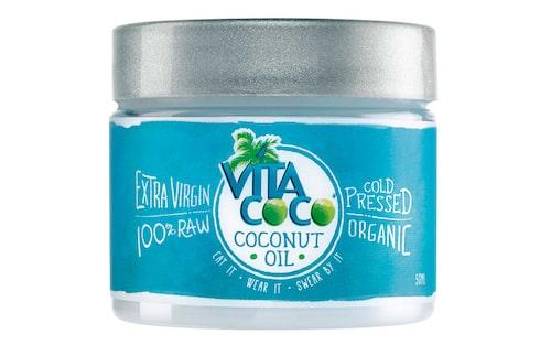 En kallpressad, ekologisk kokosolja är bra för både håret, ansiktet, huden och ögonfransarna. Snacka om prisvärt!