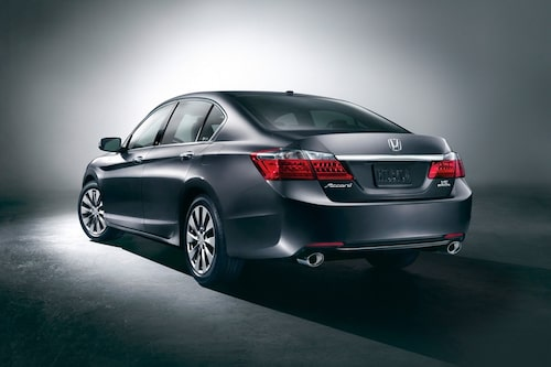 Nya Honda Accord så som den ser ut i USA.