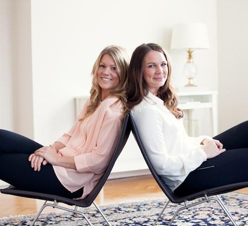 Anna Eriksson Öhlin och Ida Gabre Brånby.