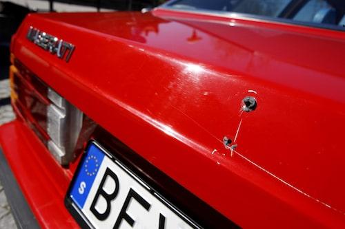 Emblemet bak fattas. Kolla upp bilmarknaderna i sommar?
