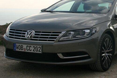 Ny front för att rimma med övriga modeller från Volkswagen.