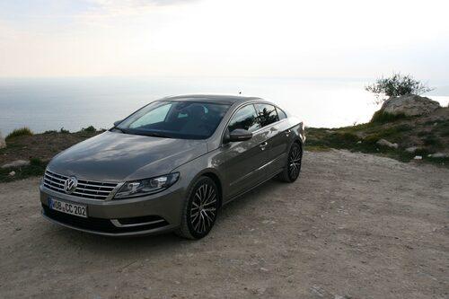 Volkswagen CC hette tidigare Passat CC, men det var innan uppdateringen.