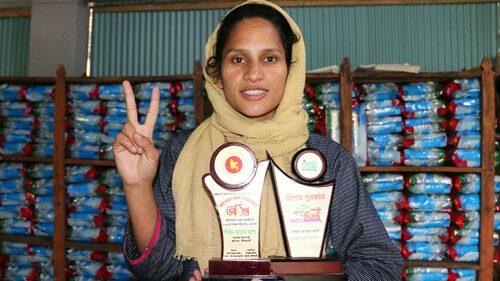 Shirin tilldelas Joyeeta Award för hennes kamp mot förtryck 2019. Priset delas ut årligen på initiativ av Bangladeshs regering för att uppmärksamma kvinnors insatser för samhället.
