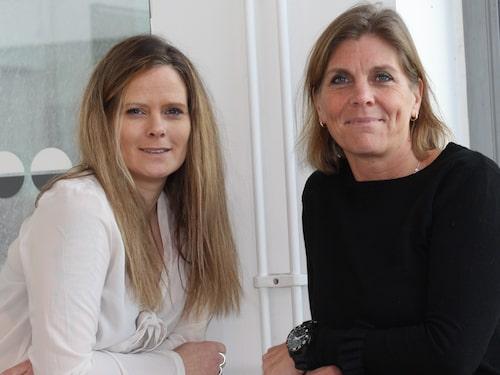 En oväntad vänskap: Katja gav aldrig upp hoppet om Linda.