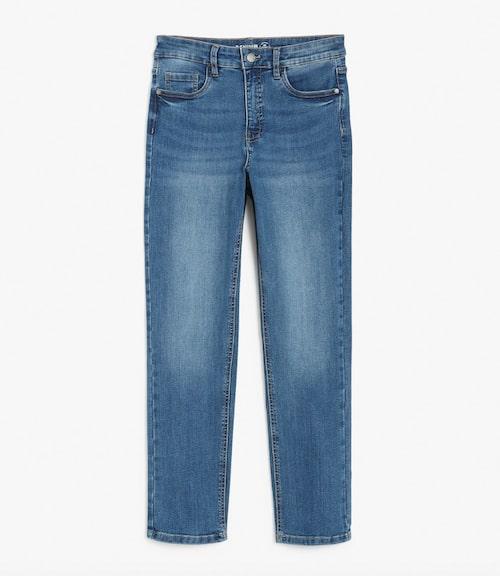 Klimatsmarta jeans med ankellånga ben från Kappahl.