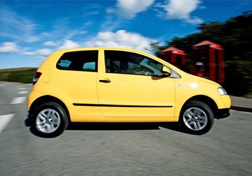 Provkörning av VW Fox