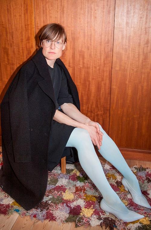 """""""Kappa från Samsøe & Samsøe, Vintage klänning och skor från Cèline."""""""