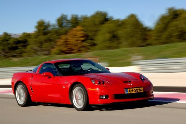 Provkörning av Corvette Z06