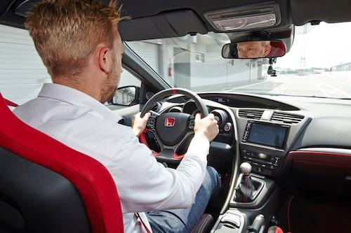 Erik Wedberg upplever framhjulsdriven fartsensation i Slovakien.