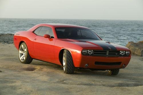 Dodge Challenger Concept från 2006.