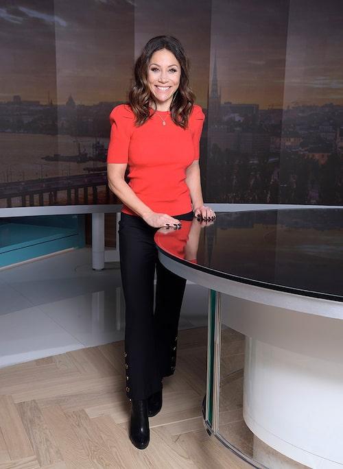 Tilde de Paula Eby är programledare för Efter Fem i Tv4.