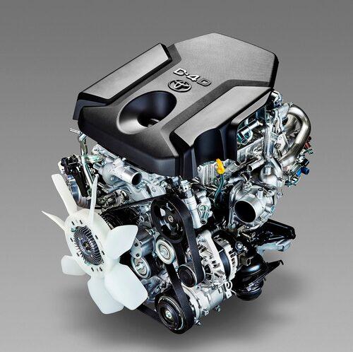 Den nyutvecklade 2,4-litersdieseln har en turbo som är 30 procent mindre än föregångaren.