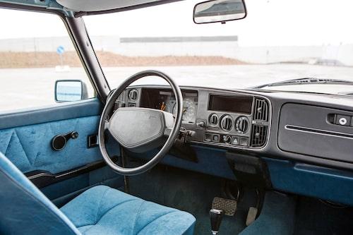 Instrumentbrädan var ett huvudnummer för Saab 900 när den presenterades den 12 maj 1978. Svensk ingenjörskonst parad med funktionell ergonomidesign.