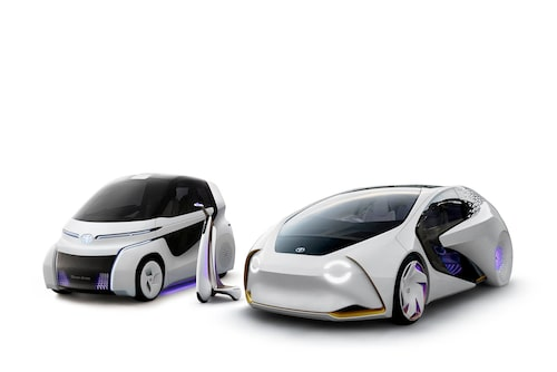 Toyota Concept-i Ride, Concept-i Walk och Concept-i.