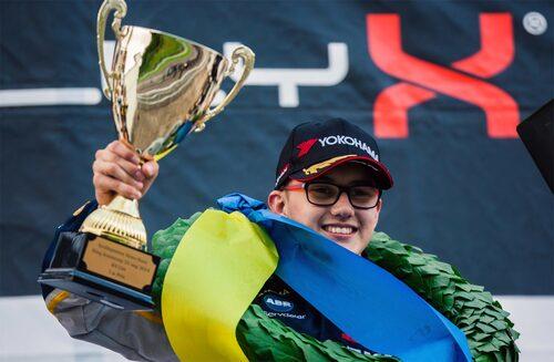 16-årige Kevin Hansen triumferade i Supercars Light. Foto: Daniel Ahlgren