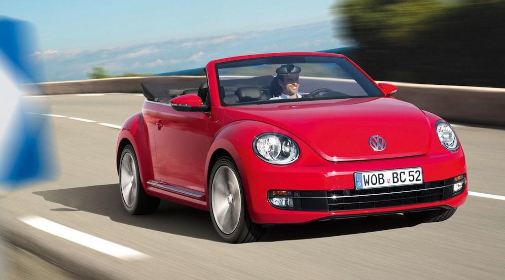 Volkswagen Beetle Cabriolet TSI 105
