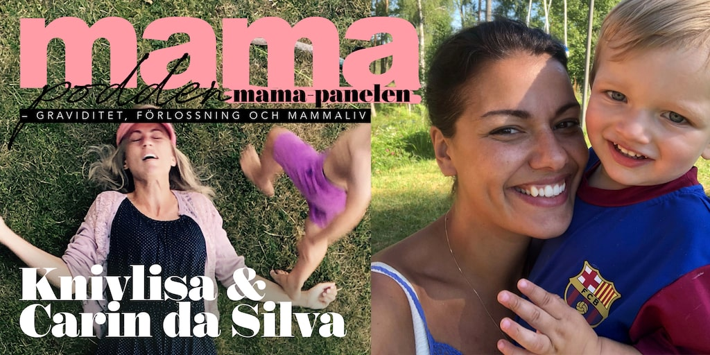 Knivlisa Carin da Silva i mamapanelen