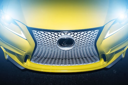 Lexus IS 350 F Sport årsmodell 2014 av Vossen