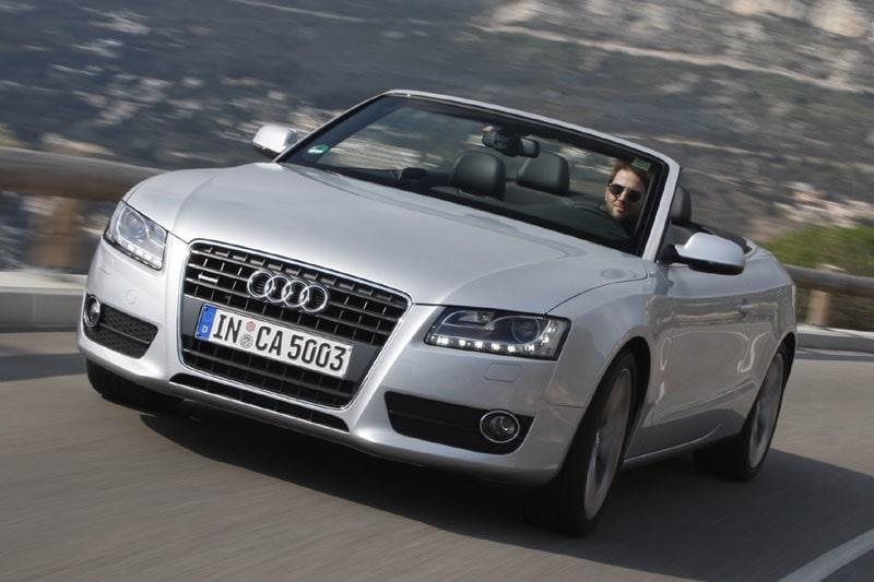 Provkörning av Audi  A5/S5 Cabriolet