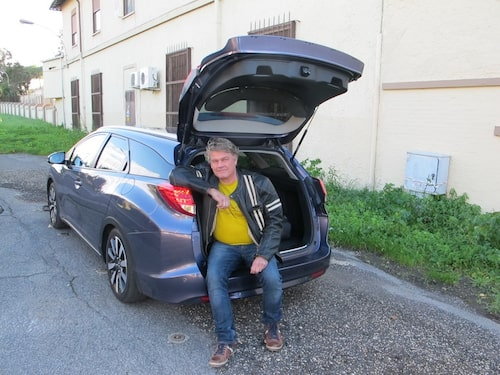 Borglund trodde han skulle köra Honda-motorcykel och tog mc-jackan…