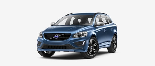 Volvo XC60 T6 AWD Classic R-Design 2017 Bursting Blue
