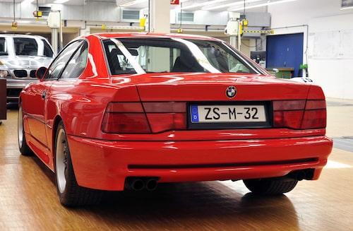 2010 valde BMW att visa upp M8-prototypen för världen.
