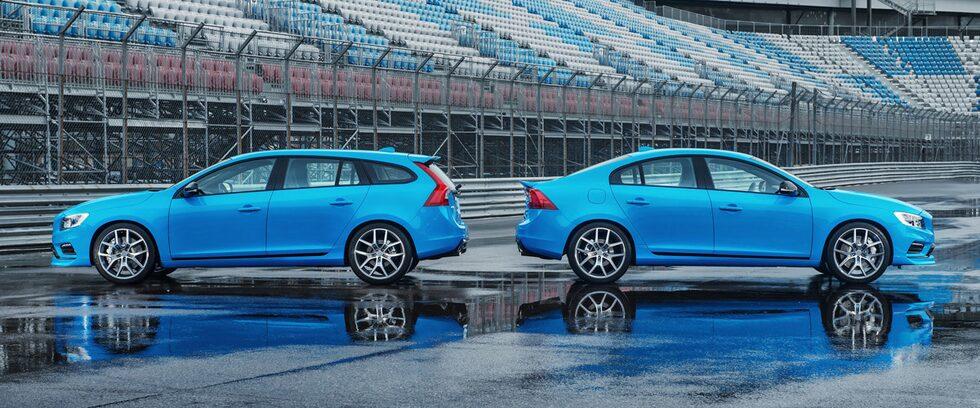 Volvo S60 och V60 Polestar