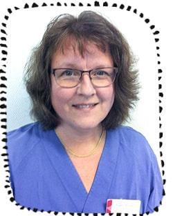 Ingela Almqvist, disktriktssköterska på bvc.