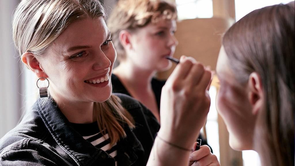 Sandra Wannerstedt är makeup-artist och har sminkat många stora stjärnor.
