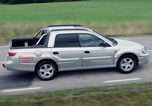 Provkörning av Subaru Baja Sport 2,5