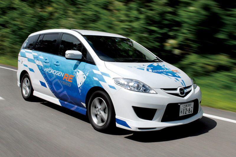 090610-Mazda 5 Hydrogen RE Hybrid