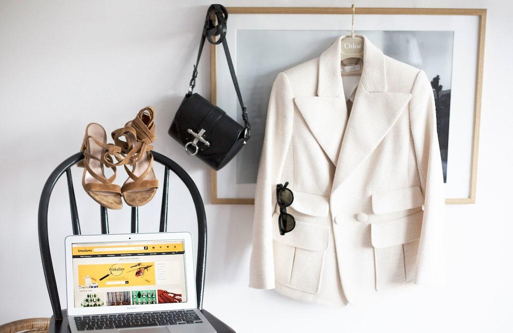 Få bra betalt när du säljer kläder online.