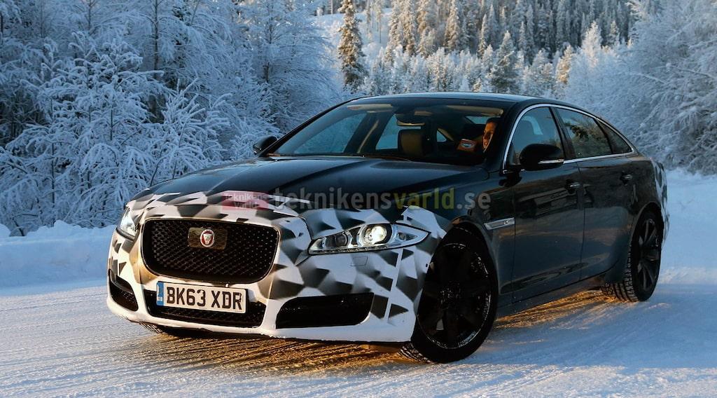 Jaguar XJ facelift 2015