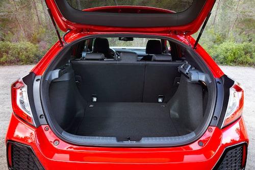 Riktigt stort bagageutrymme men inte lika smart sätesfällning som förr, vilket många ägare inte vet om.