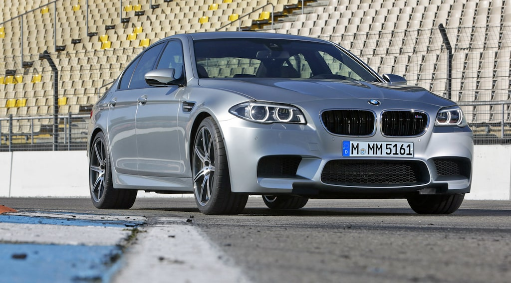 BMW M5 F10 facelift 2014