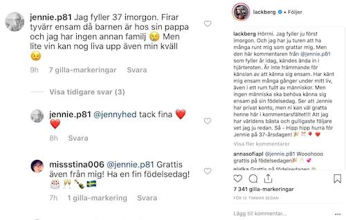Camilla Läckbergs uppmaning har engagerat flera tusen följare.