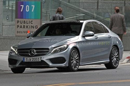 Nya Mercedes C-klass W205 med AMG-paket