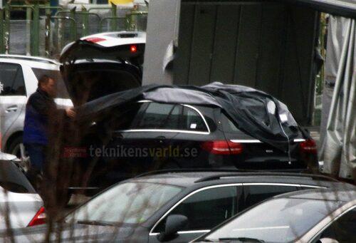 Nya Mercedes C-klass Kombi W205