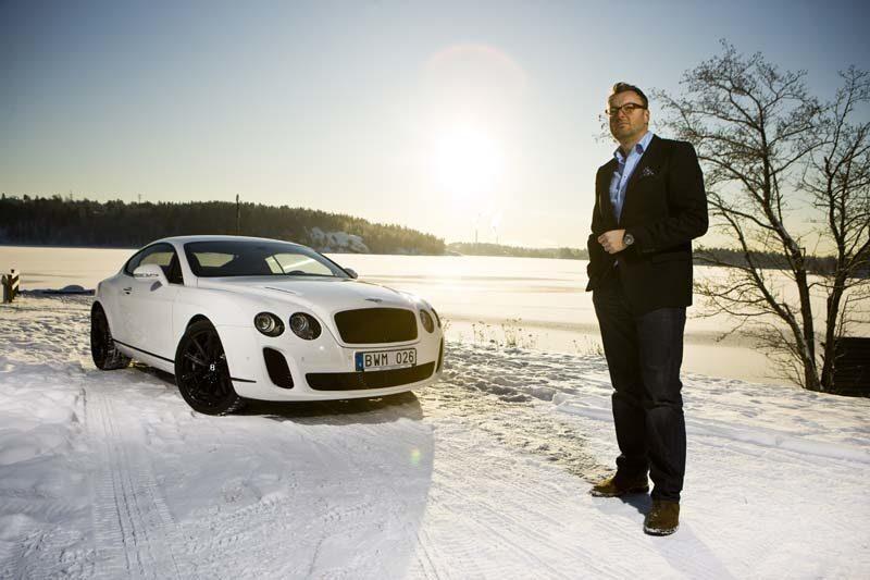 Provkörning av Bentley Continental Supersports