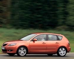 Provkörning av Mazda 3